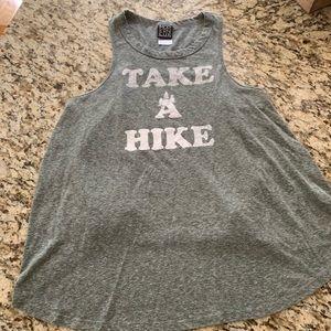 Tops - Take a hike flowy tank. Size Large. Jr. Fit